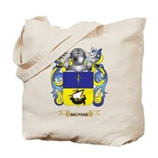 McPhie Coat of Arms - Family Crest Tote Bag