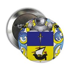 "McPhie Coat of Arms - Family Crest 2.25"" Button"