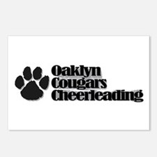 """Oaklyn Cougars """"Pawprint"""" Postcards (Package of 8)"""