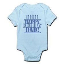 Happy Birthday Dad Infant Bodysuit