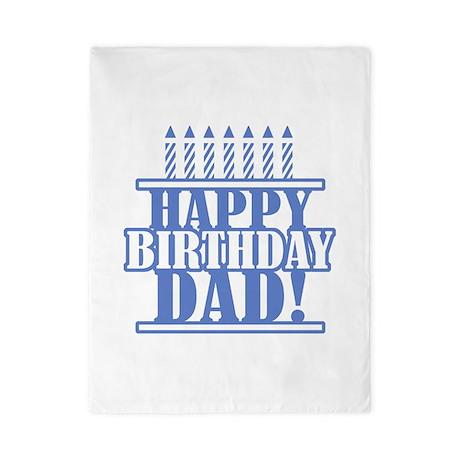Happy Birthday Dad Twin Duvet