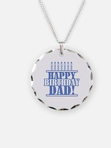 Happy Birthday Dad Necklace