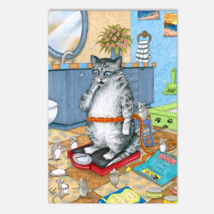 Cat 579 Postcards (Package of 8)