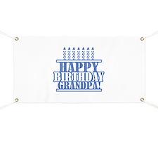 Happy Birthday Grandpa Banner