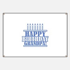 Happy Birthday Grandpa Banner