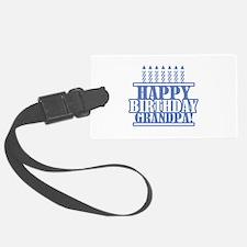 Happy Birthday Grandpa Luggage Tag