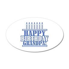 Happy Birthday Grandpa Wall Decal