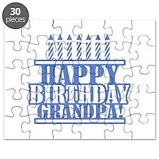 Happy Birthday Grandpa Puzzle
