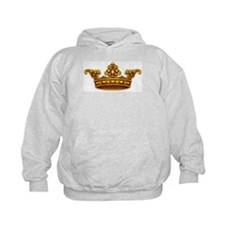 Gold King Crown Hoodie