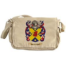 McQuade Coat of Arms - Family Crest Messenger Bag
