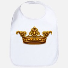 Gold King Crown Bib