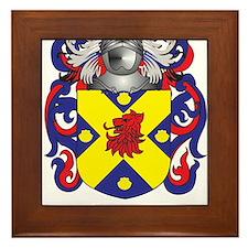 McQuade Coat of Arms - Family Crest Framed Tile