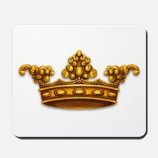 Gold King Crown Mousepad