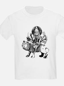Durga Black T-Shirt