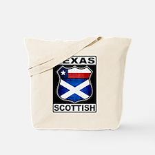 Texas Scottish American Tote Bag