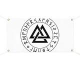 Valknut Banners