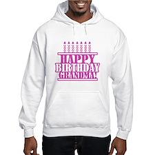 Happy Birthday Grandma Hoodie
