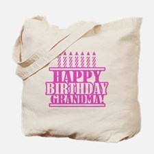 Happy Birthday Grandma Tote Bag