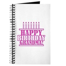 Happy Birthday Grandma Journal