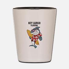 Key Largo, Florida Shot Glass