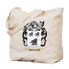 McQueen Coat of Arms - Family Crest Tote Bag