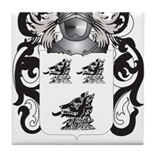 McQueen Coat of Arms - Family Crest Tile Coaster