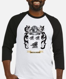 McQueen Coat of Arms - Family Crest Baseball Jerse