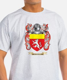 McQuillan Coat of Arms - Family Crest T-Shirt