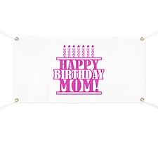 Happy Birthday Mom Banner