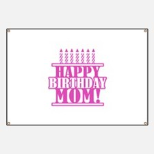 Happy Birthday Mom Banner