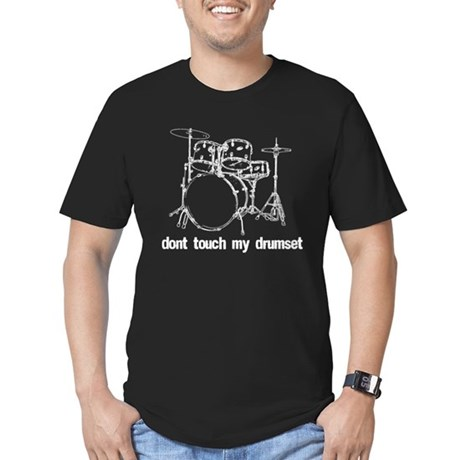 Dont touch my drumset white T-Shirt