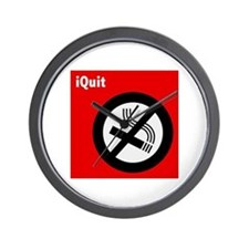 iQuit Smoking Wall Clock