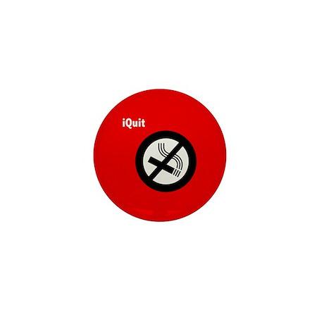iQuit Smoking Mini Button