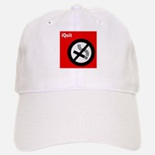 iQuit Smoking Baseball Baseball Cap