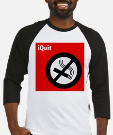iQuit Smoking Baseball Jersey