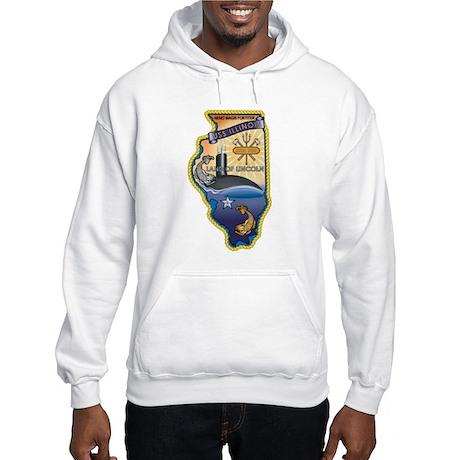 USS Illinois SSN-786 Hooded Sweatshirt