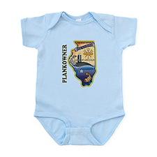 USS Illinois Plankowner Infant Bodysuit