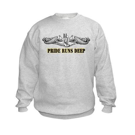 Pride Runs Deep! SSN-786 Kids Sweatshirt
