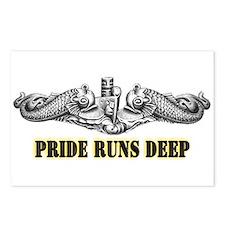 Pride Runs Deep! SSN-786 Postcards (Package of 8)