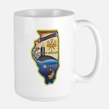 USS Illinois SSN-786 Large Mug