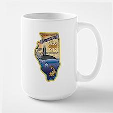USS Illinois SSN-786 Mug