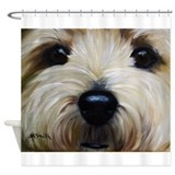 Cairn terrier Shower Curtains