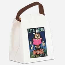 1955 Children's Book Week Canvas Lunch Bag
