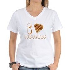 I Heart (Love) Waffles T-Shirt