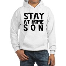 Stay At Home Son Black Hoodie