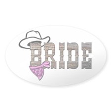 Cowgirl Bride Decal