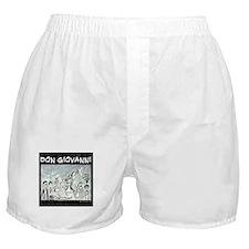 Don Giovanni black & white Boxer Shorts