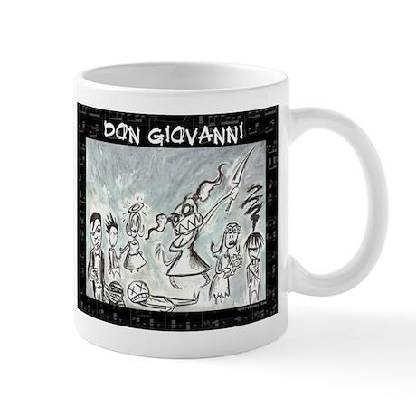 Don Giovanni black & white Mug