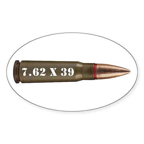 7.62 AK Ammo Design Sticker