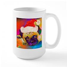 Christmas Pug 2  Mug